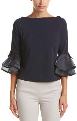 Gracia Ruffle Top