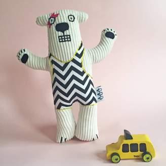 terri leahy Handmade Polar Bear Soft Toy Can Be Personalised
