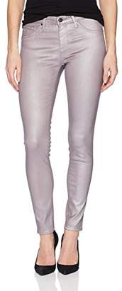 AG Adriano Goldschmied Women's Legging Anke Metallic Leatherette