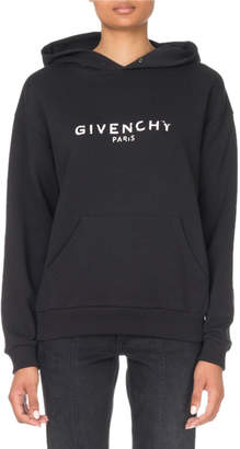 Givenchy Logo Graphic Hoodie