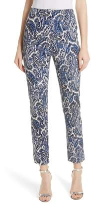 Diane von Furstenberg High Waist Skinny Pants