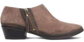 Schutz Distressed Suede Ankle Boots