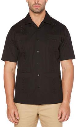 Cubavera Short Sleeve Guayabera Button-Front Shirt