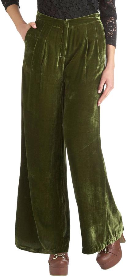 Glassblowing Class Pants in Moss