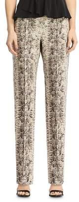 Bailey 44 Austin Snake Print Straight-Leg Pants