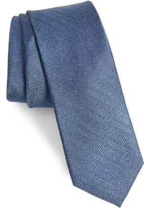 Calibrate Gneiss Stripe Silk Skinny Tie