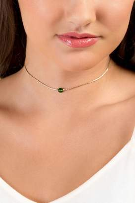 francesca's August Birthstone Choker With Crystals From Swarovski& - Lime