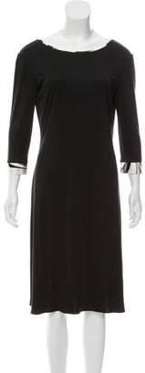 Emilio Pucci Silk Knee-Length Dress