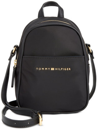 Tommy Hilfiger Juliette Nylon Mini Crossbody $88 thestylecure.com