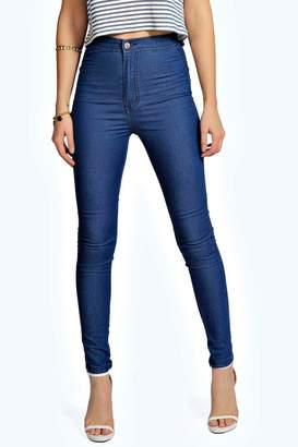boohoo High Waisted Skinny Jeans