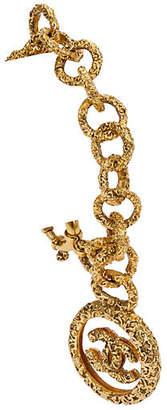 One Kings Lane Vintage Chanel Lucite Logo Charm Bracelet - 1994