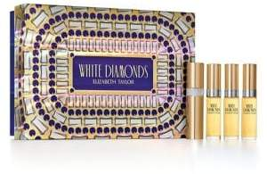 Elizabeth Taylor White Diamonds Holiday Fragrance Coffret 4-Piece Set - $41 Value
