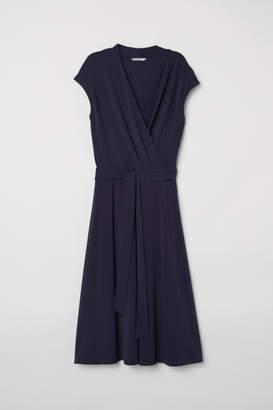 H&M Wrap Dress - Blue