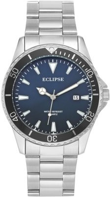 Eclipse by Armitron Eclipse By Armitron Men's Round Dress Watch, Navy