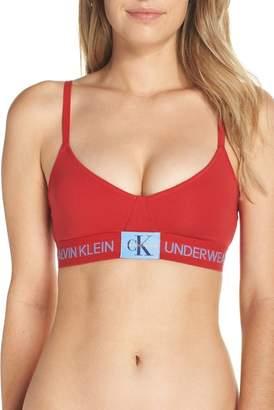 5c0e95f39c Calvin Klein Red Bras - ShopStyle