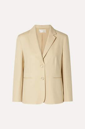 The Row Lobton Cotton-blend Blazer - Beige