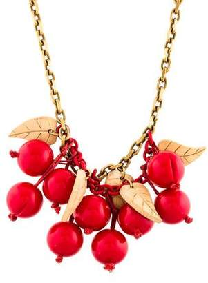 Stella McCartney Cherry Necklace