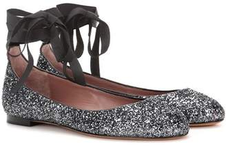 Tabitha Simmons Daria patent leather ballerinas