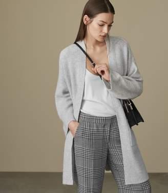 Reiss Faye Open-Front Longline Cardigan