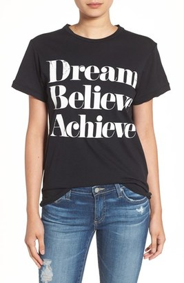 Women's Sincerely Jules 'Dream Believe Achieve' Graphic Tee $49 thestylecure.com