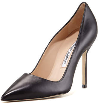 Manolo Blahnik BB Leather 105mm Pumps