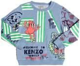 Kenzo (ケンゾー) - KENZO KIDS ロゴプリント コットンスウェットシャツ