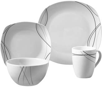Gallery Alec 16-pc. Soft Square Dinnerware Set