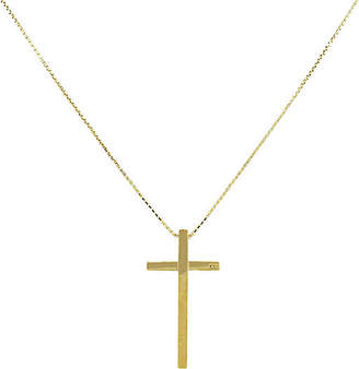 One Kings Lane Vintage 18K Gucci Cross Necklace - Raymond Lee Jewelers