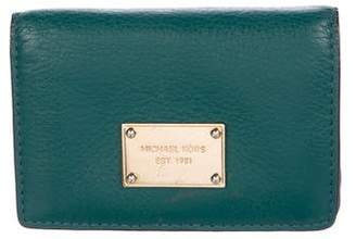 MICHAEL Michael Kors Leather Compact Wallet