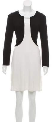 Yoana Baraschi Colorblock A-Line Dress