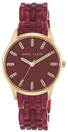 Anne KleinAnne Klein Round Analog Bracelet Watch