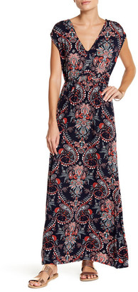 Loveappella Paisley Maxi Dress (Petite) $89 thestylecure.com