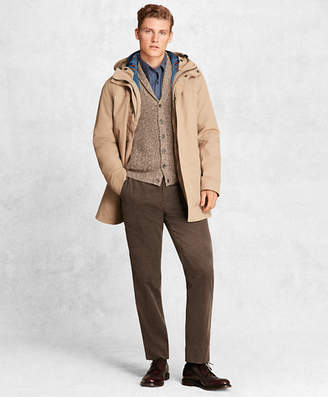 Brooks Brothers Golden Fleece 2-in-1 Twill Parka