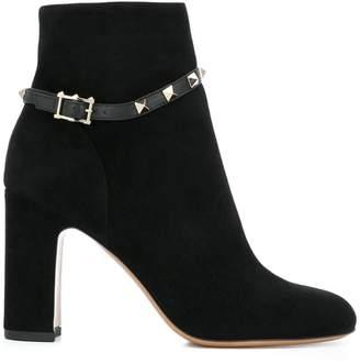 Valentino Rockstud strap booties