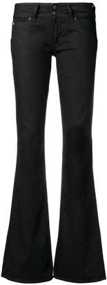 Hudson low rise flared jeans