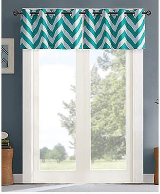 """Intelligent Design Libra 50"""" x 18"""" Energy-Efficient Room Darkening Window Valance"""