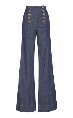 Ulla Johnson Ashton Flared Jean