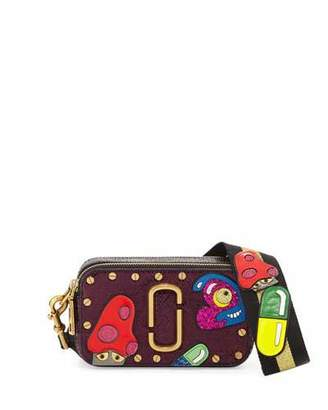 Marc Jacobs Snapshot Mushroom Leather Camera Bag, Pink $595 thestylecure.com