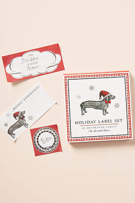 Anthropologie Holiday Hound Gift Labels, Set of 80