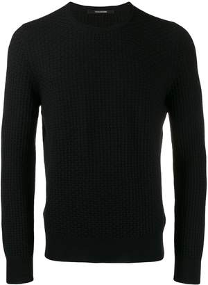 Tagliatore knitted long sleeve top