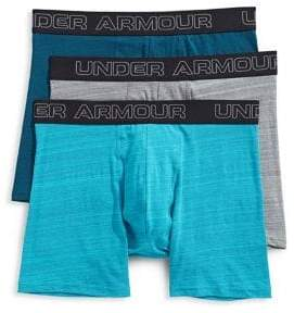 Under Armour Charged Cotton Stretch Three-Pack Boxers
