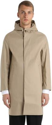 MACKINTOSH Hooded Rubberized Cotton Coat