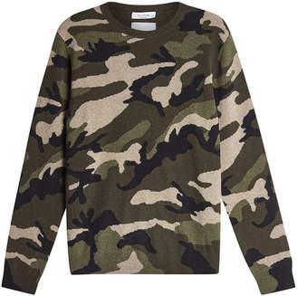 Valentino Printed Cashmere Pullover