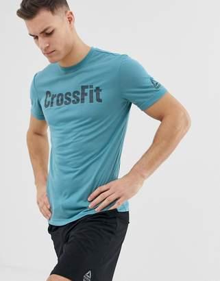 Reebok Crossfit Speedwick tshirt in blue