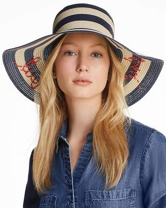 Kate Spade Out And About Striped Sun Hat