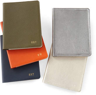 """Graphic Image Leather 9"""" Notebook, Personalized"""