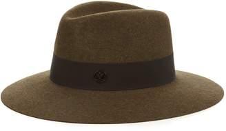 Maison Michel Henrietta showerproof felt hat