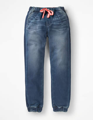 Boden Jersey Denim Pull-on Trousers