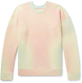 The Elder Statesman Tie-Dyed Cashmere-Blend Sweater