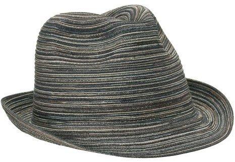 Women's Xhilaration Packable Marled Fedora - Black
